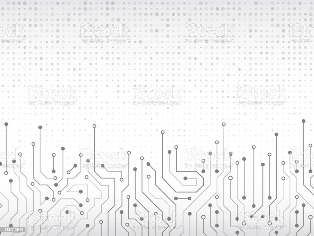 Circuit board vector illustration. векторная иллюстрация