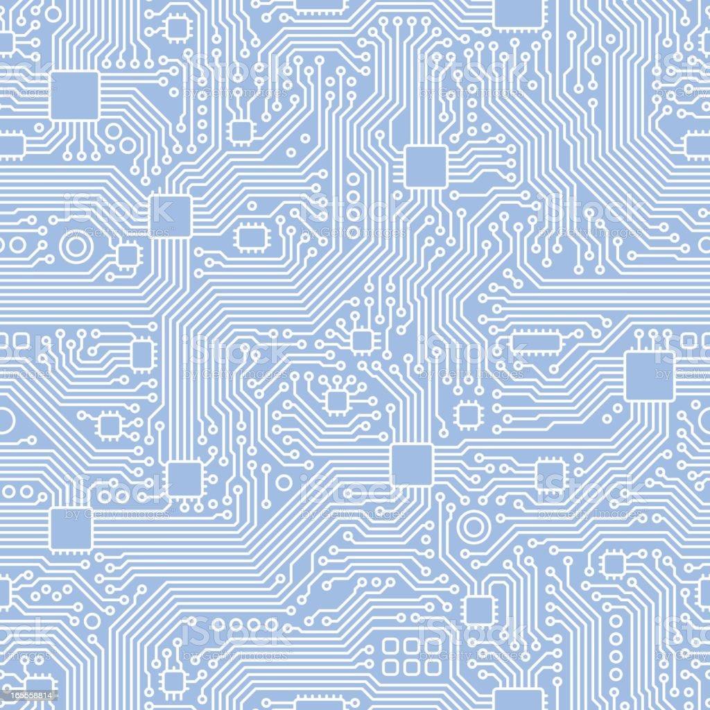 circuit board vector seamless tile stock vector art amp more