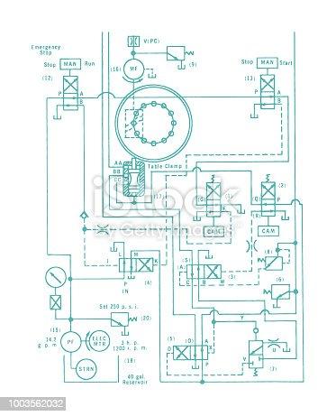 Circuit Diagram Stock Vector Art More Images Of Circuit Board