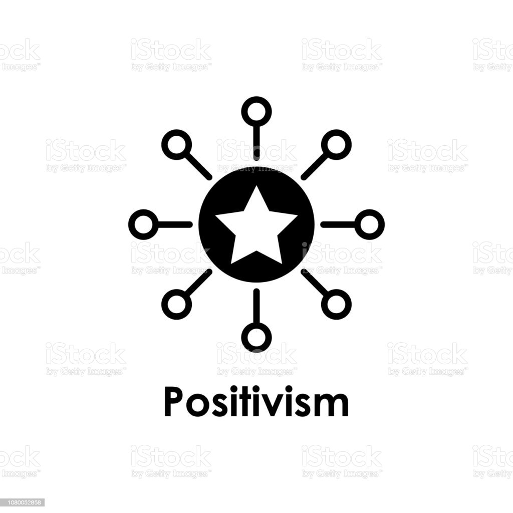 Circuit Star Positivism Icon One Of Business Icons For