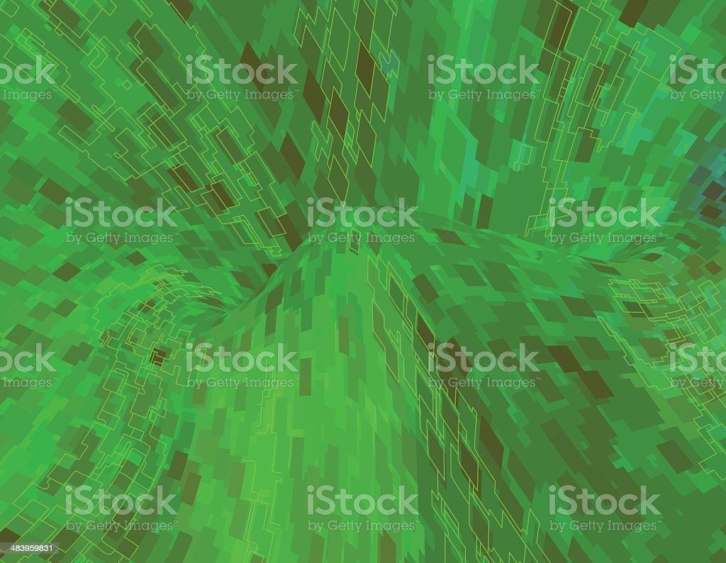 Circuitry royalty-free stock vector art