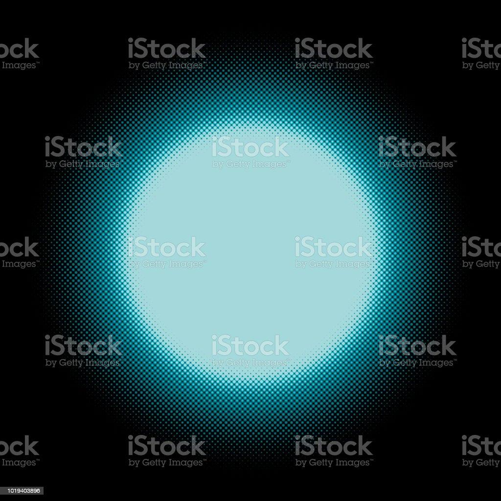 Circular Background Design Full Moon Stock Illustration - Download