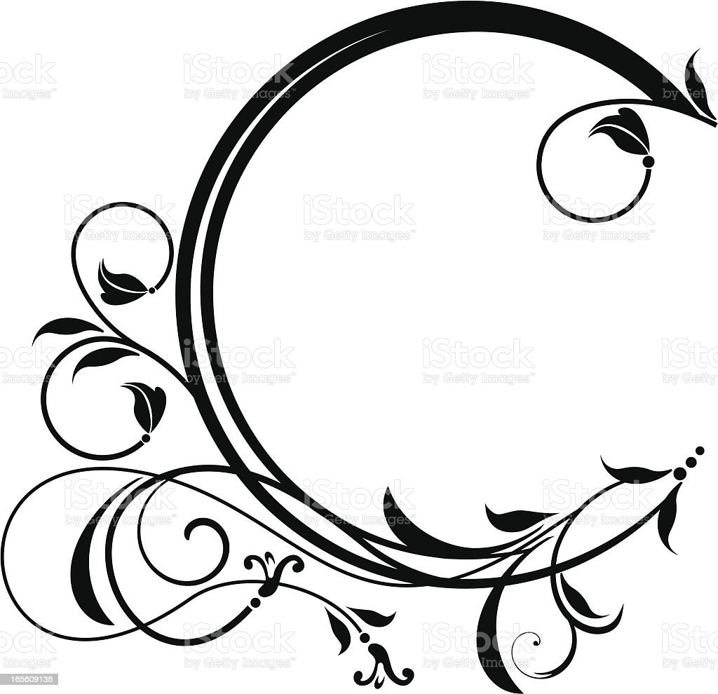 Circular Filigree Frame Stock Vector Art & More Images of ...