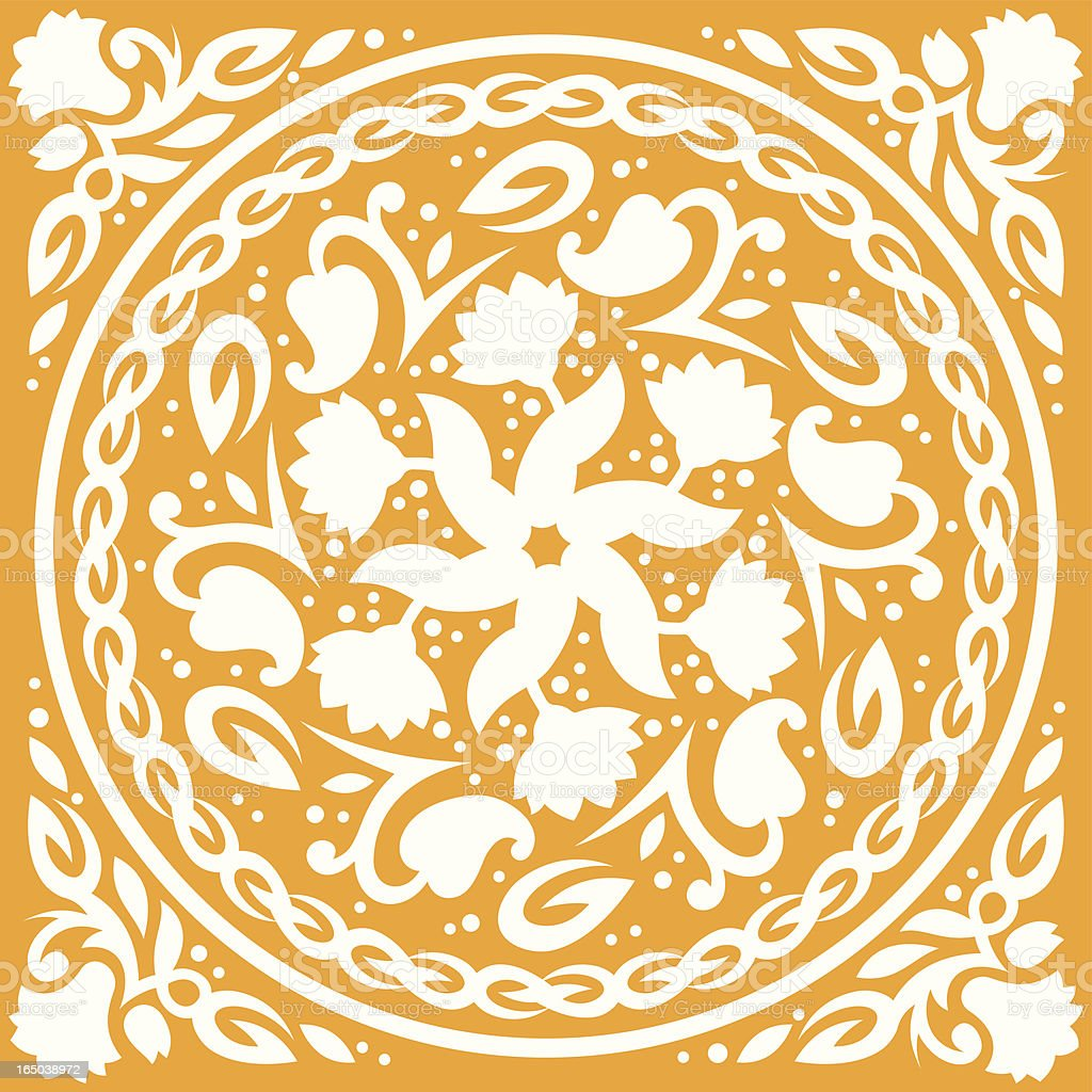 Circular floral pattern (Vector) royalty-free circular floral pattern stock vector art & more images of abstract