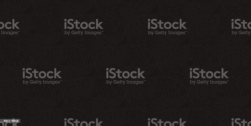 Circular isometric seamless pattern of colored labyrinth, flat royalty free circular isometric seamless pattern of colored labyrinth flat stockvectorkunst en meer beelden van begrippen en thema's