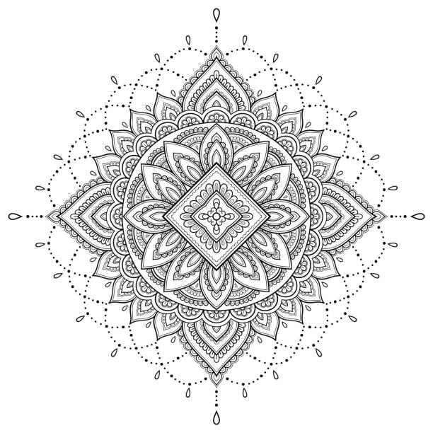 orientalische ornamente vektorgrafiken und illustrationen
