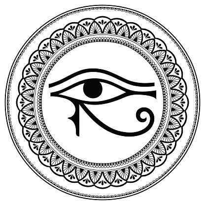 Auge Des Horus Links Oder Rechts