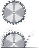istock Circular saw blade 104103969