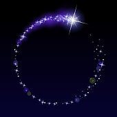 Circular Shooting star