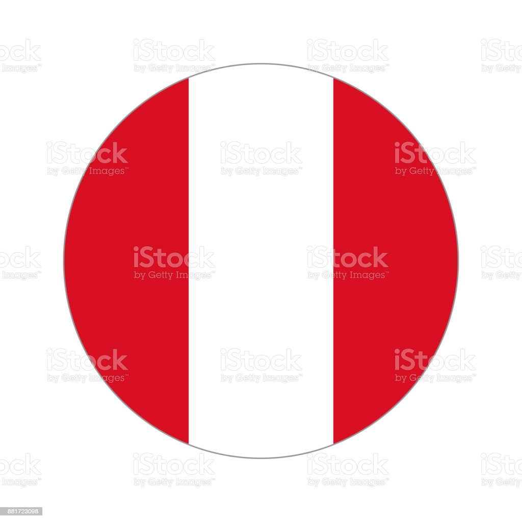 Kreisförmige Welt Flag – Vektorgrafik