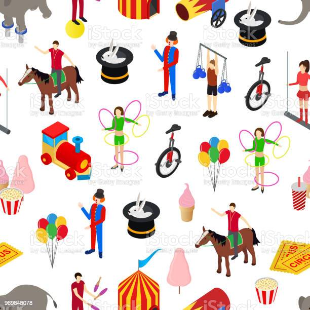 Circus amusement and attraction seamless pattern background isometric vector id969848078?b=1&k=6&m=969848078&s=612x612&h=fnurnhgwzxz0c4xi3o8cp8zrmgcz musfamdqleox04=
