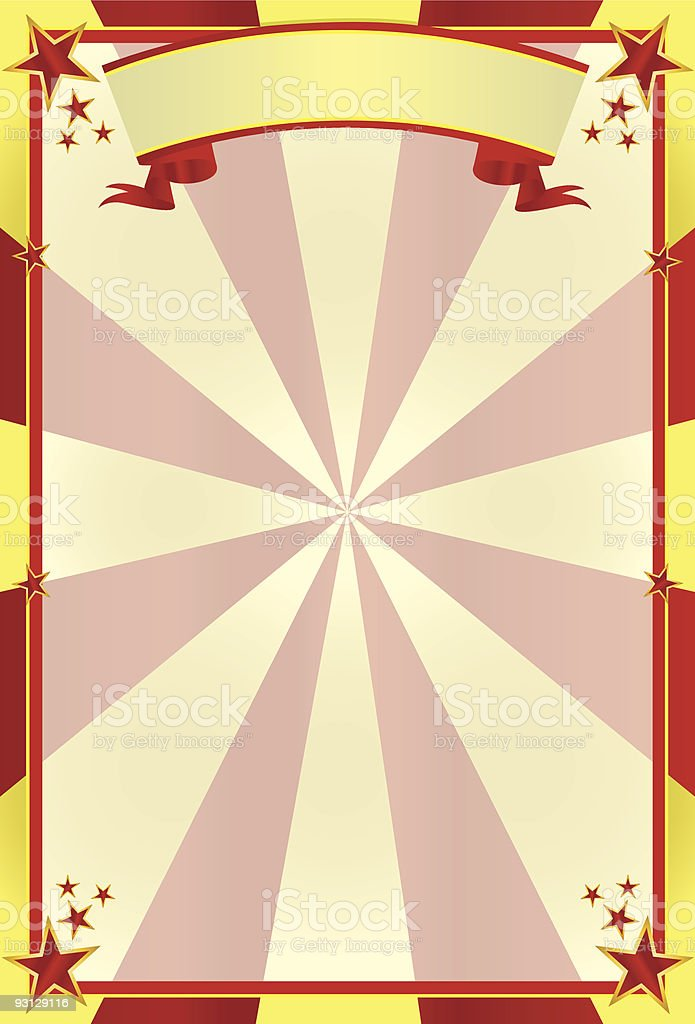 circus background 1 royalty-free stock vector art