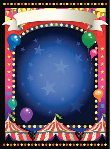 circus background frame