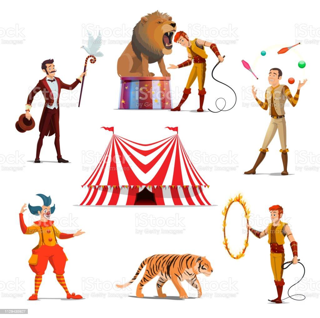 Grand Chapiteau De Cirque Formateur Magicien Clown Jongleur