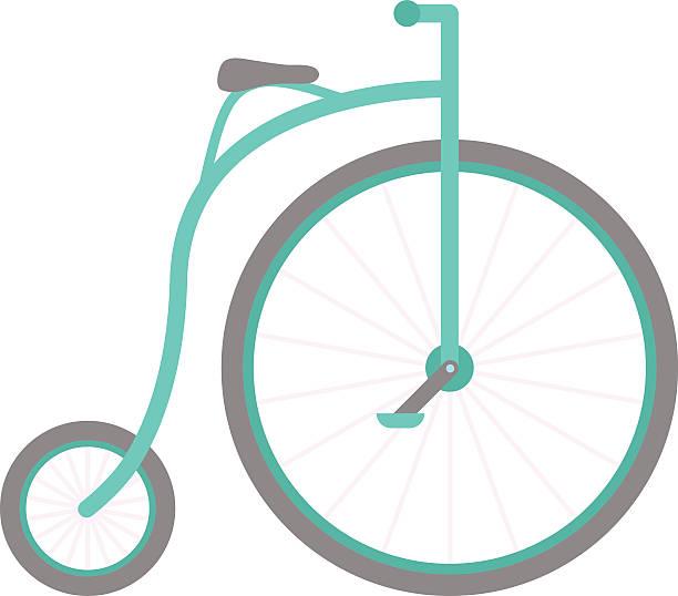 zirkus fahrrad vektor-illustration - lustige fahrrad stock-grafiken, -clipart, -cartoons und -symbole