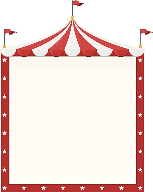 Frontière de cirque - Illustration vectorielle