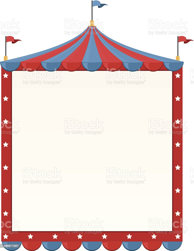 Circus Border Stock Vector Art Amp More Images Of