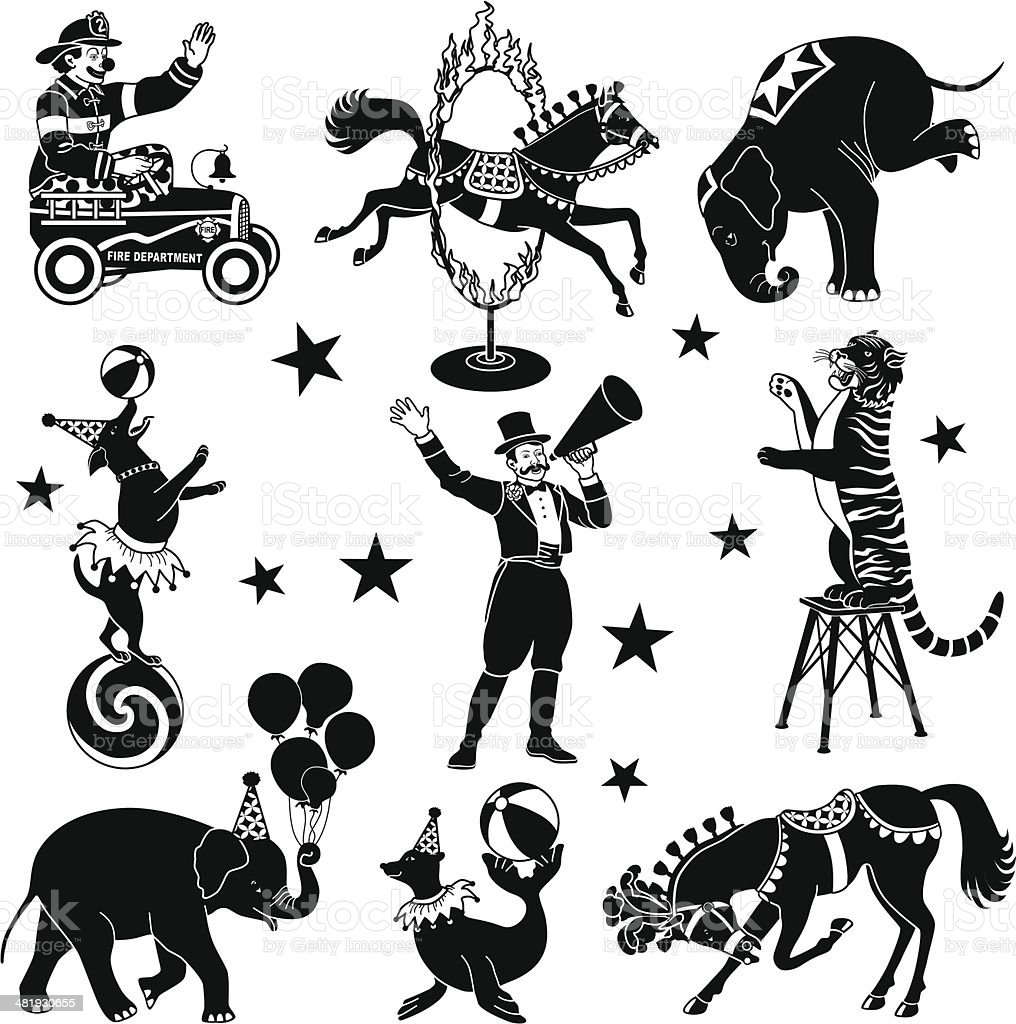 circus characters royalty-free circus characters stock vector art & more images of animal