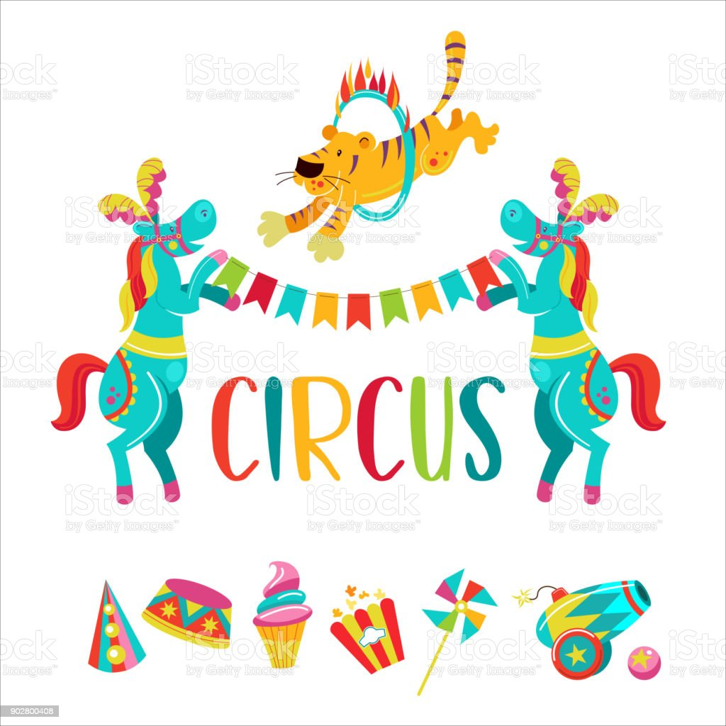 circus clipart stock vector art more images of backgrounds rh istockphoto com circus clipart black and white circus clipart free download