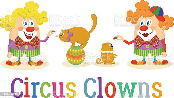 Circus clowns with trained animals vector id606234240?b=1&k=6&m=606234240&s=612x612&h=zubeifoq7pz8uvaglnhjshhvysstmdcbankq4dwzeb4=