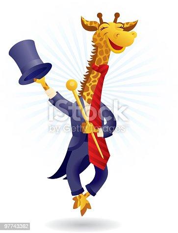 istock Circus Giraffe 97743362