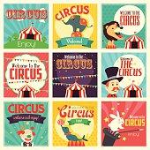 Circus icons
