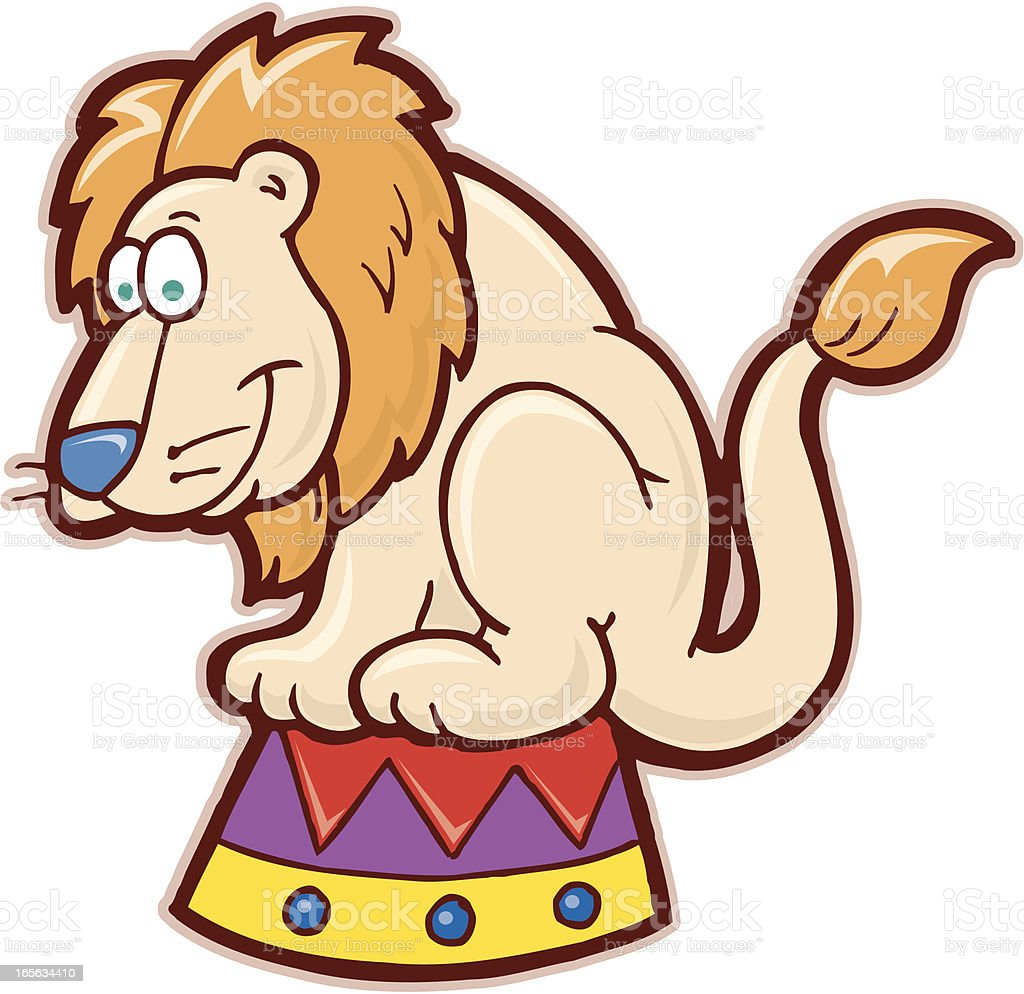 circus lion cartoon stock vector art 165634410 istock