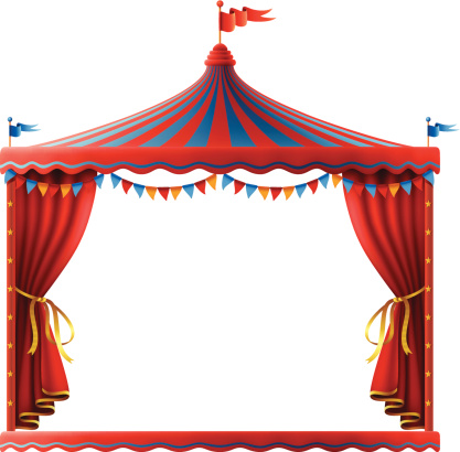 Circus Stage Sign