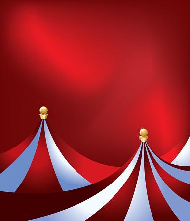 Circus Tent Background - Big Top