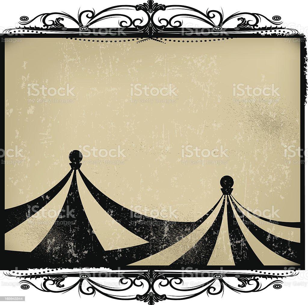 Circus Tent Background Retro Stock Vector Art More Images Of