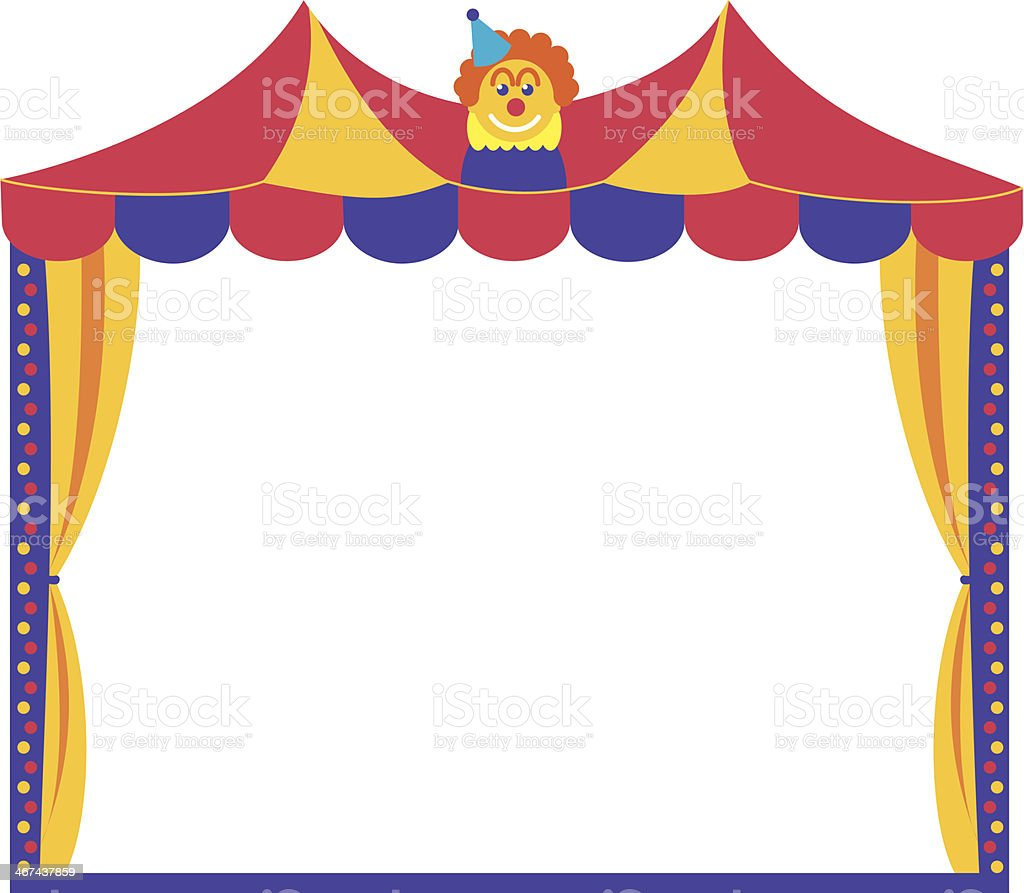 Circus Tent Frame Stock Vector Art & More Images of Circus 467437859 ...