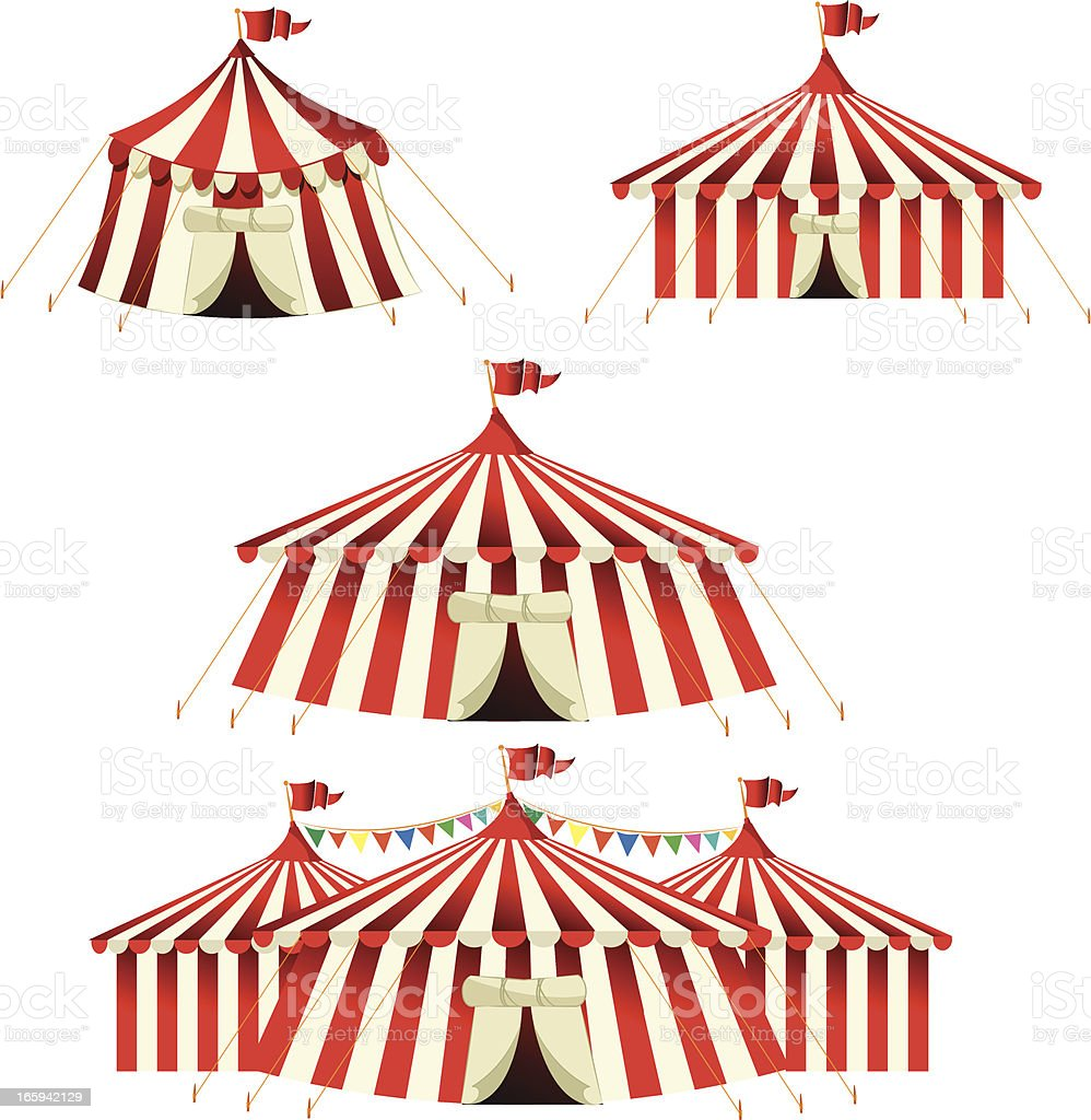 Circus Tent royalty-free circus tent stock vector art u0026&; more images of cartoon  sc 1 st  iStock & Circus Tent Stock Vector Art u0026 More Images of Cartoon 165942129 ...