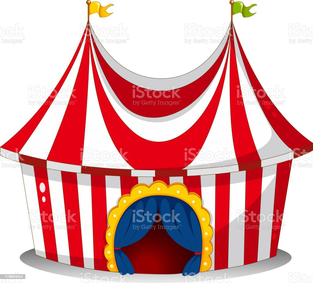 circus tent royalty-free stock vector art