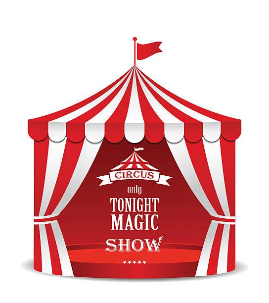 ilustrações, clipart, desenhos animados e ícones de tenda de circo. - barraca