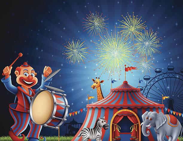 illustrations, cliparts, dessins animés et icônes de circus - cage animal nuit