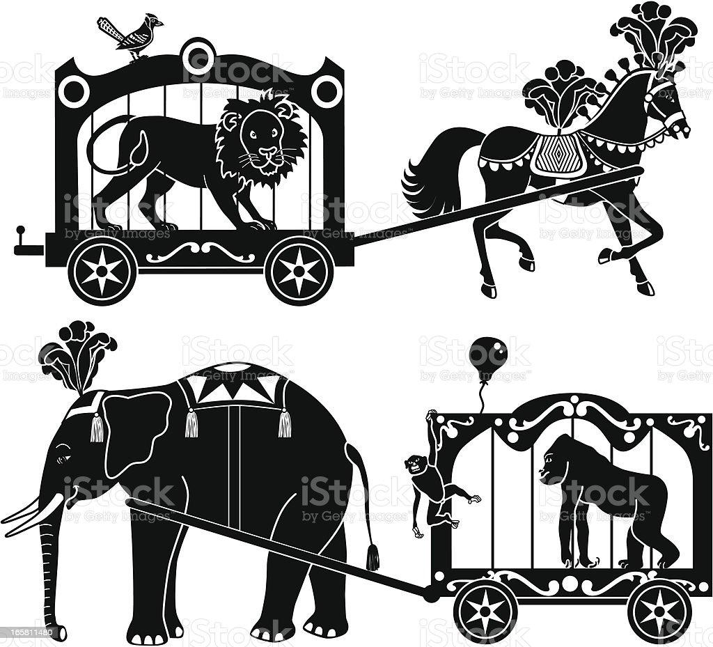 circus wagons stock vector art 165811480 istock