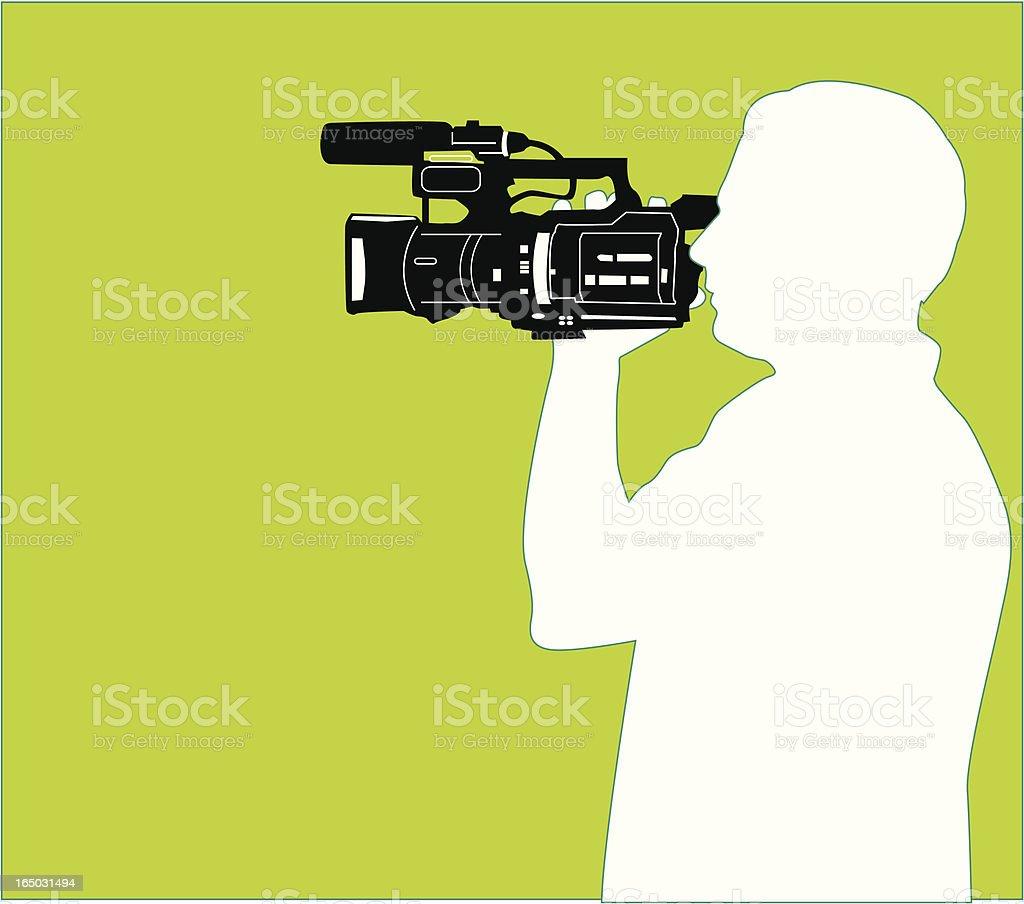 Citizen Journalist ( Vector ) royalty-free stock vector art
