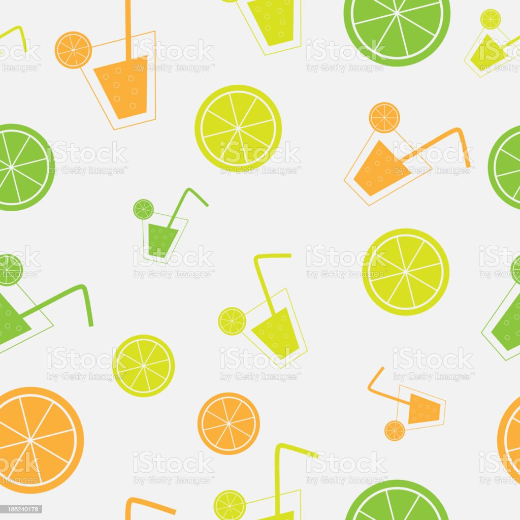 citrus Cocktail seamless pattern background vector illustration royalty-free citrus cocktail seamless pattern background vector illustration stock vector art & more images of abstract