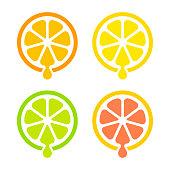 istock Citrus juice icon 984413694