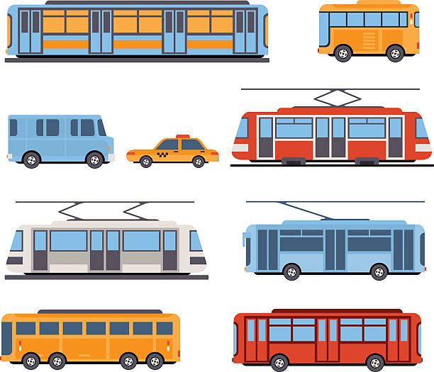 illustrazioni stock, clip art, cartoni animati e icone di tendenza di città e dei treni intercity trasporto - subway