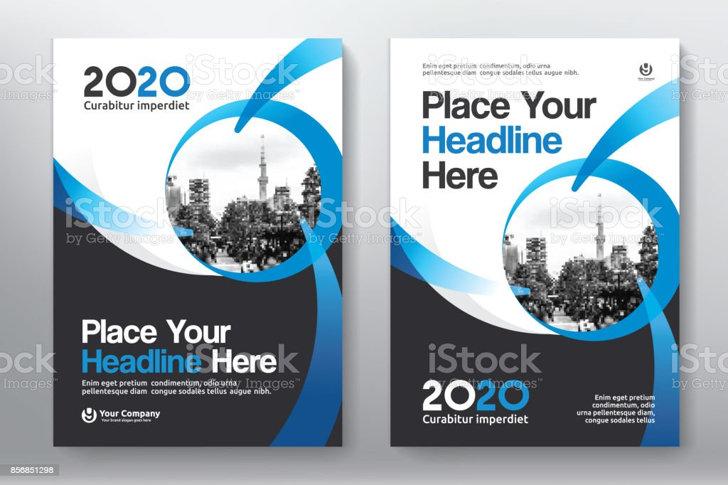Business Book Cover Template : City background business book cover design template stock
