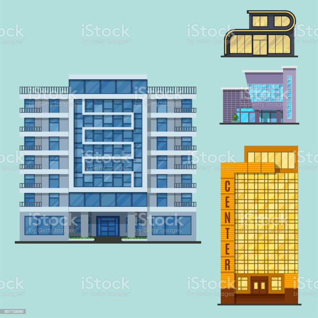 Stadt Gebaude Moderner Turm Buro Architektur Haus Business Apartment