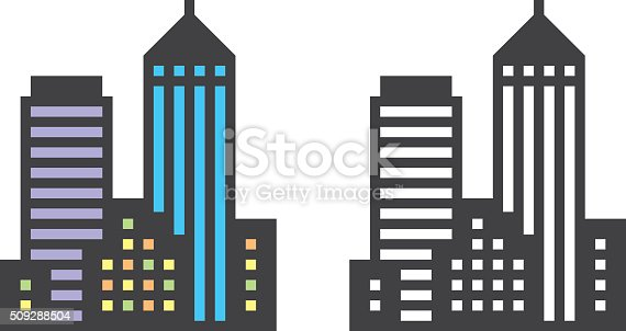 city buildings stock vector art  u0026 more images of