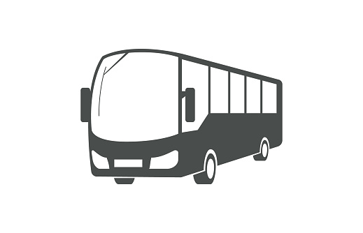 City bus, public transport symbol