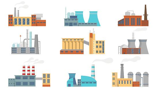 City factories set