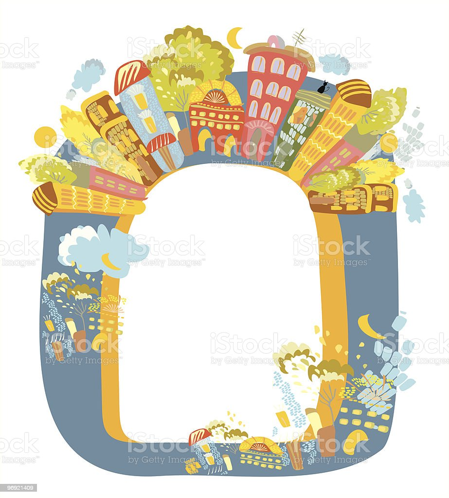 City frame royalty-free city frame stock vector art & more images of ancient