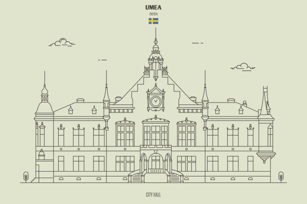 Umea Illustrations Royalty Free Vector Graphics Clip Art