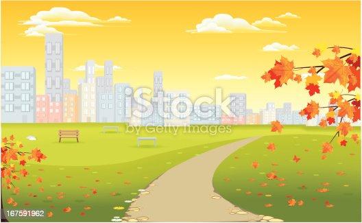 istock city in autumn 167591962
