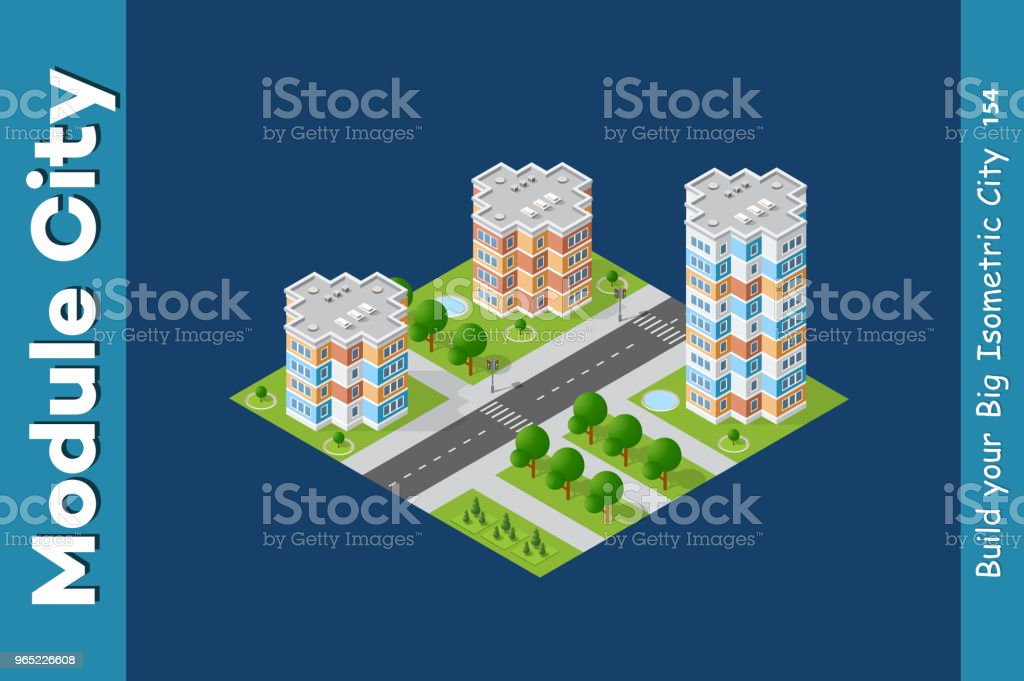 City isometric set royalty-free city isometric set stock vector art & more images of architecture