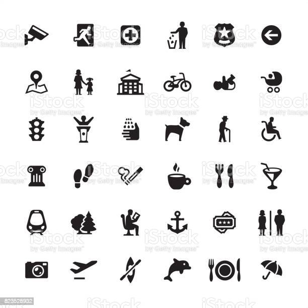 City life and public space icons set vector id823528932?b=1&k=6&m=823528932&s=612x612&h=cfgilcpavu cnwqlbvy2cmmsbnltoxabmb7hrmikvm0=